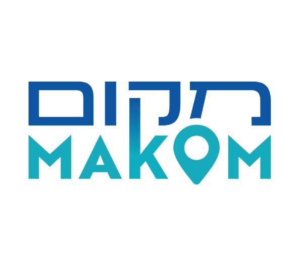 makom logo white background