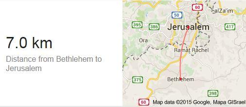 Bethlehem Jerusalem