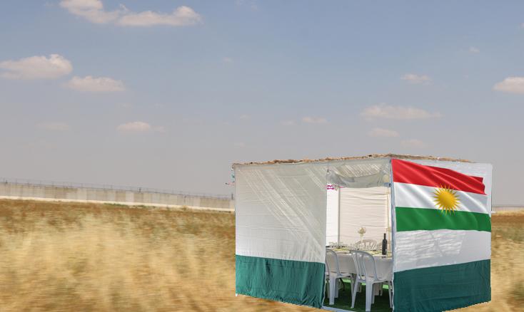 Temporary Shelter for the Kurds on Sukkot