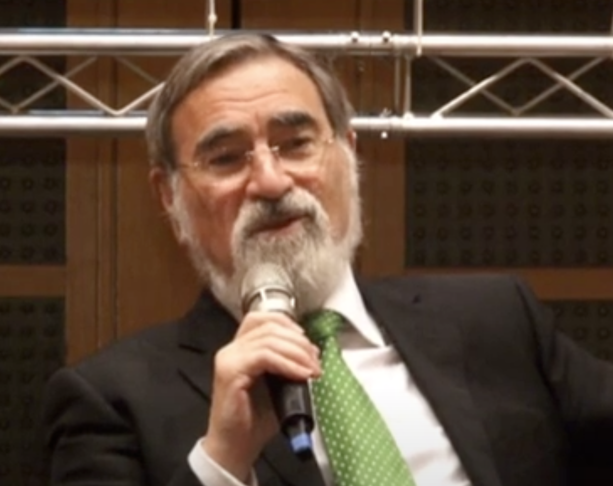 "Makom mourns the passing of Rabbi Lord Jonathan Sacks, z""l"