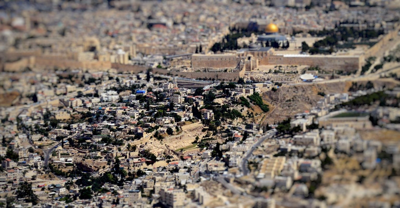City_of_David,_Wadi_Hilweh_–_Palestinian_village,_Israeli_settlement,_Archaeological_site_–_from_the_air